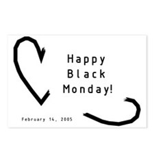 Black Monday Postcards (Package of 8)