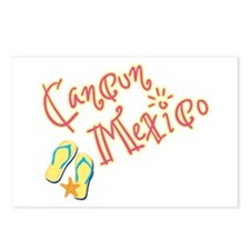 Cancun Mexico - Postcards (Package of 8)