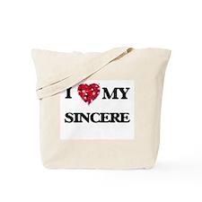 I love my Sincere Tote Bag