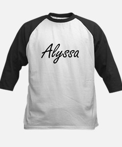 Alyssa artistic Name Design Baseball Jersey