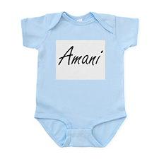 Amani artistic Name Design Body Suit