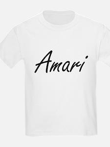 Amari artistic Name Design T-Shirt