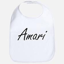 Amari artistic Name Design Bib