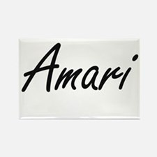 Amari artistic Name Design Magnets