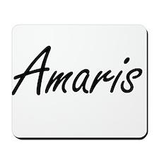 Amaris artistic Name Design Mousepad