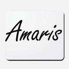 Amaris artistic Name Design Mousepad