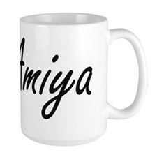 Amiya artistic Name Design Mugs