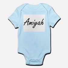 Amiyah artistic Name Design Body Suit