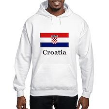 Croatia Hoodie Sweatshirt