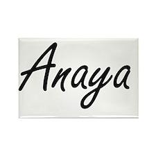Anaya artistic Name Design Magnets