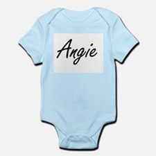 Angie artistic Name Design Body Suit