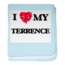 I love my Terrence baby blanket