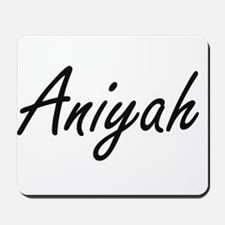 Aniyah artistic Name Design Mousepad