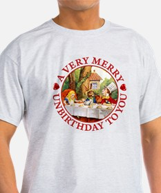 A Very Merry Unbirthday To You T-Shirt