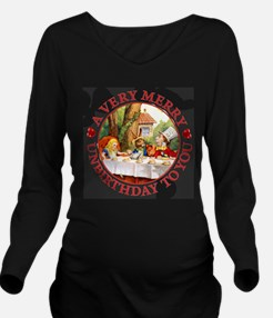 A Very Merry Unbirth Long Sleeve Maternity T-Shirt