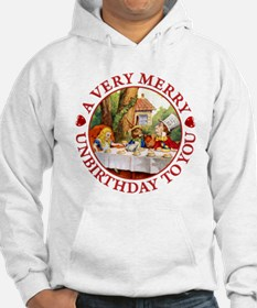 A Very Merry Unbirthday To You Jumper Hoody