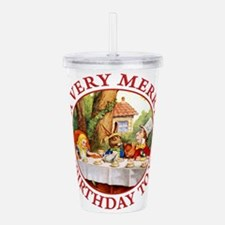 A Very Merry Unbirthda Acrylic Double-wall Tumbler