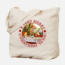 A Very Merry Unbirthday To You Tote Bag