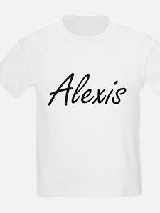 Alexis artistic Name Design T-Shirt