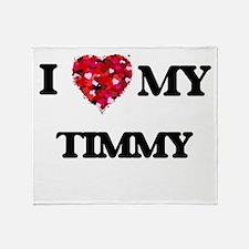 I love my Timmy Throw Blanket