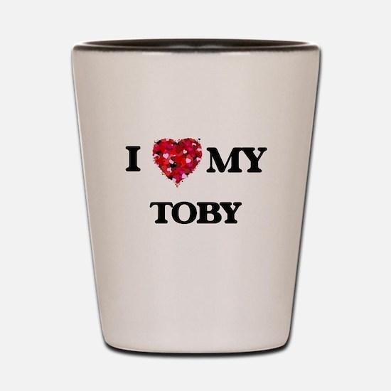 I love my Toby Shot Glass