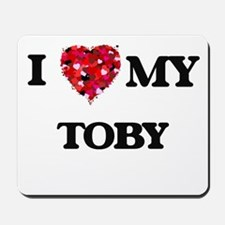 I love my Toby Mousepad