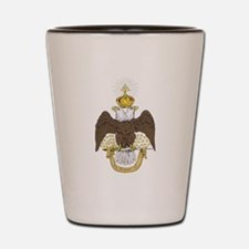 33rd Double Headed Eagle of Lagash Shot Glass