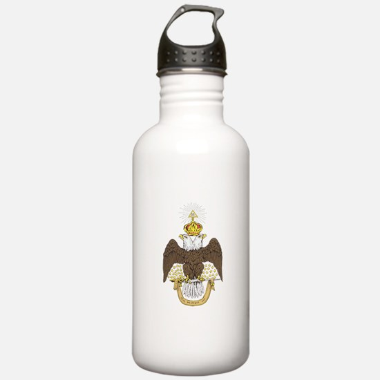 33rd Double Headed Eagle of Lagash Water Bottle