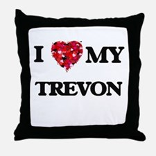 I love my Trevon Throw Pillow