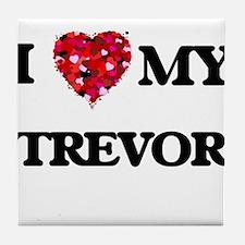 I love my Trevor Tile Coaster
