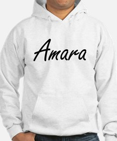 Amara artistic Name Design Jumper Hoody
