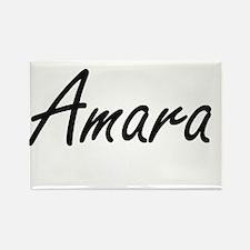 Amara artistic Name Design Magnets