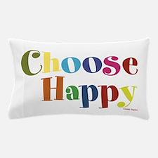 Choose Happy 01 Pillow Case
