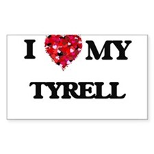 I love my Tyrell Decal