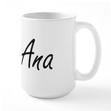 Ana artistic Name Design Mugs
