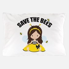 Save the Bees Pillow Case