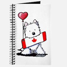 Canadian KiniArt Westie Fan Journal
