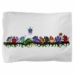 many cute Dragons Pillow Sham