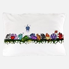 many cute Dragons Pillow Case