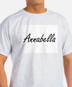 Annabella artistic Name Design T-Shirt