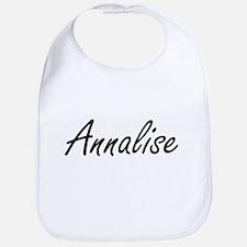 Annalise artistic Name Design Bib