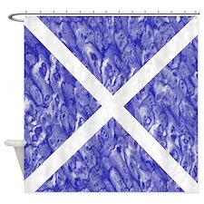 Scottish Flag Shower Curtain