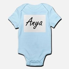Anya artistic Name Design Body Suit