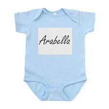 Arabella artistic Name Design Body Suit