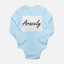 Aracely artistic Name Design Body Suit