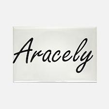 Aracely artistic Name Design Magnets