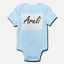 Areli artistic Name Design Body Suit
