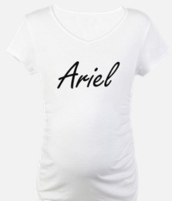 Ariel artistic Name Design Shirt