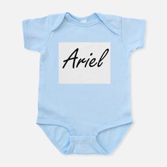 Ariel artistic Name Design Body Suit