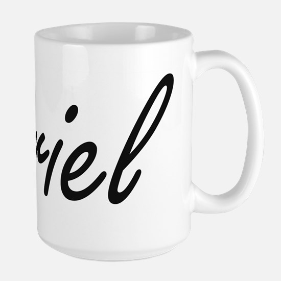 Ariel artistic Name Design Mugs
